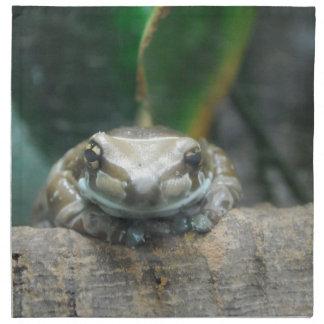Sistema de la rana de la leche del Amazonas de Servilletas