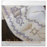 Sistema de la servilleta de Talit del hebreo de Sh