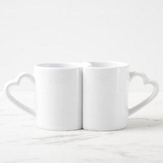 Sistema de la taza de los amantes tazas para parejas