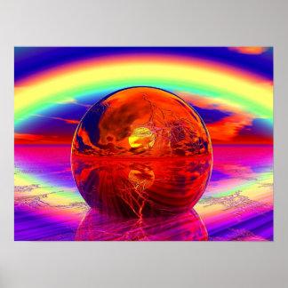 Sistema de Majical Sun Póster