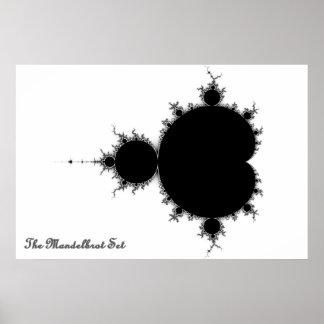Sistema de Mandelbrot Póster