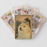 Sistema de naipe real del dux cartas de juego