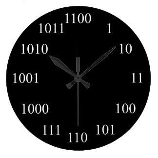 Sistema de número binario Geeky Relojes