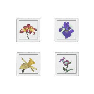 Sistema de piedra del imán de las flores del arte imán de piedra