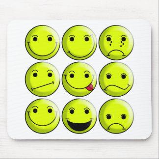 Sistema de smiley mousepads