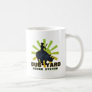 Sistema de sonido de la yarda de la copia tazas de café