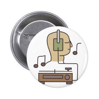 Sistema de sonido pin redondo de 2 pulgadas