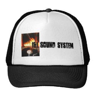 "sistema de sonido ""ruedas del i&i"" de casquillo de gorros bordados"