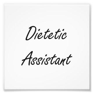 Sistema de trabajo artístico auxiliar dietético