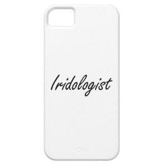 Sistema de trabajo artístico de Iridologist iPhone 5 Carcasas