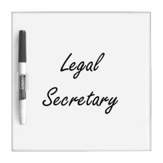 Sistema de trabajo artístico de la secretaria pizarras blancas
