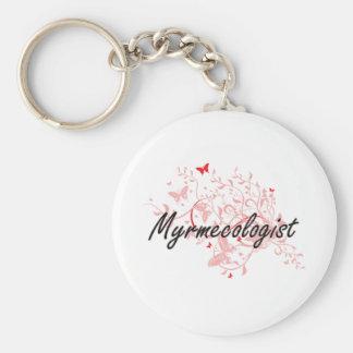 Sistema de trabajo artístico de Myrmecologist con Llavero Redondo Tipo Pin