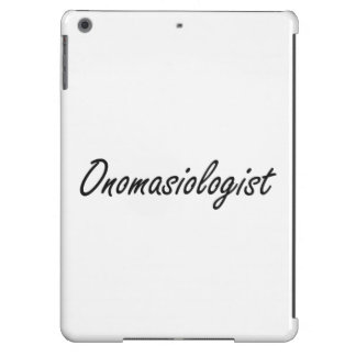 Sistema de trabajo artístico de Onomasiologist Funda Para iPad Air