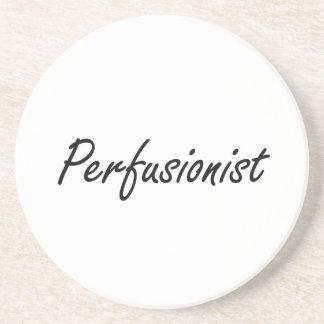 Sistema de trabajo artístico de Perfusionist Posavasos Para Bebidas