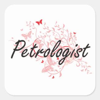 Sistema de trabajo artístico de Petrologist con Pegatina Cuadrada