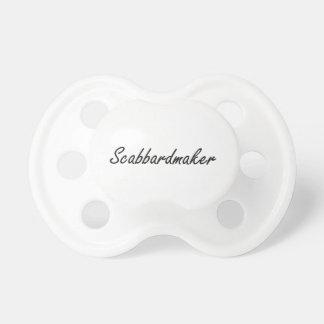Sistema de trabajo artístico de Scabbardmaker Chupetes De Bebé