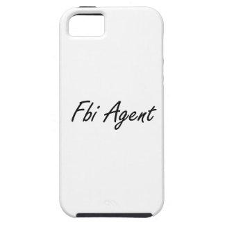 Sistema de trabajo artístico del agente del FBI Funda Para iPhone 5 Tough