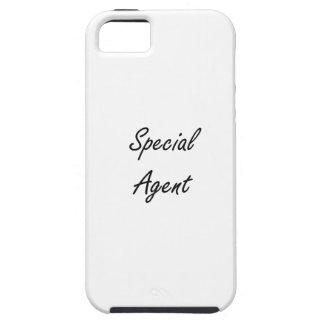 Sistema de trabajo artístico del agente especial iPhone 5 funda