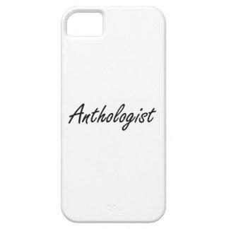 Sistema de trabajo artístico del Anthologist Funda Para iPhone 5 Barely There
