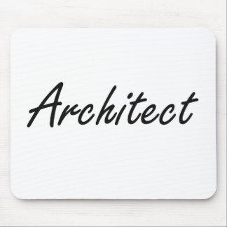 Sistema de trabajo artístico del arquitecto tapete de raton
