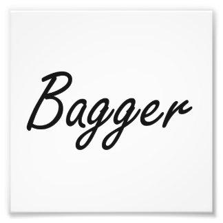 Sistema de trabajo artístico del Bagger