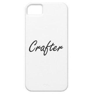 Sistema de trabajo artístico del Crafter iPhone 5 Funda