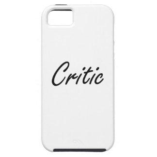 Sistema de trabajo artístico del crítico iPhone 5 carcasas