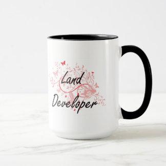 Sistema de trabajo artístico del desarrollador de taza