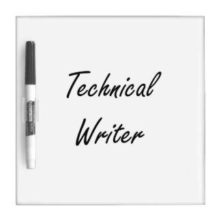 Sistema de trabajo artístico del escritor técnico pizarras blancas de calidad