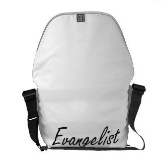 Sistema de trabajo artístico del evangelista bolsas de mensajería