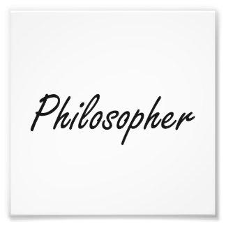 Sistema de trabajo artístico del filósofo fotos