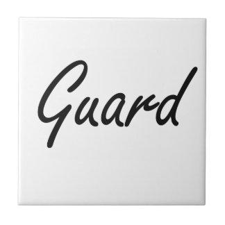 Sistema de trabajo artístico del guardia azulejo cuadrado pequeño