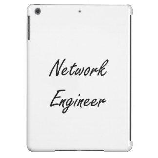 Sistema de trabajo artístico del ingeniero de la funda para iPad air