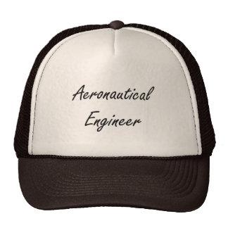 Sistema de trabajo artístico del ingeniero gorras