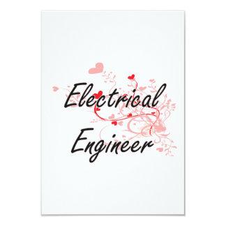"""Sistema de trabajo artístico del ingeniero invitación 3.5"""" x 5"""""""