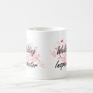 Sistema de trabajo artístico del inspector de la taza de café