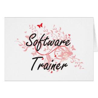 Sistema de trabajo artístico del instructor del tarjeta pequeña
