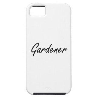 Sistema de trabajo artístico del jardinero iPhone 5 fundas