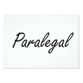 """Sistema de trabajo artístico del Paralegal Invitación 5"""" X 7"""""""