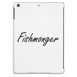 Sistema de trabajo artístico del pescadero funda para iPad air