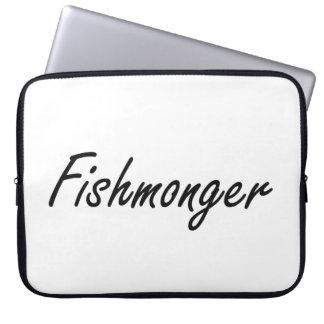 Sistema de trabajo artístico del pescadero fundas computadoras