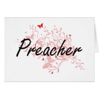 Sistema de trabajo artístico del predicador con tarjeta pequeña