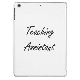 Sistema de trabajo artístico del profesor ayudante funda para iPad air