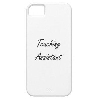Sistema de trabajo artístico del profesor ayudante iPhone 5 carcasas