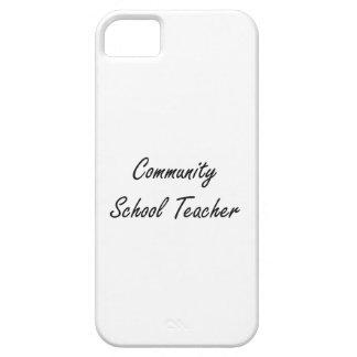 Sistema de trabajo artístico del profesor de iPhone 5 funda