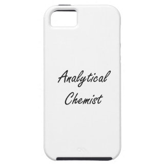 Sistema de trabajo artístico del químico analítico iPhone 5 Case-Mate protectores
