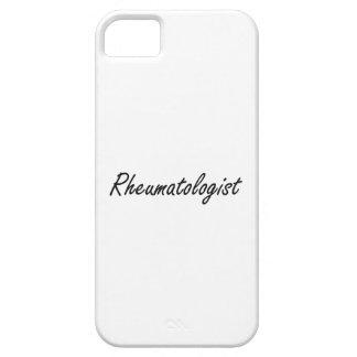 Sistema de trabajo artístico del reumatólogo iPhone 5 Case-Mate carcasas