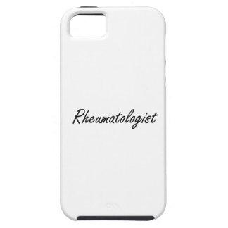 Sistema de trabajo artístico del reumatólogo iPhone 5 Case-Mate cárcasas