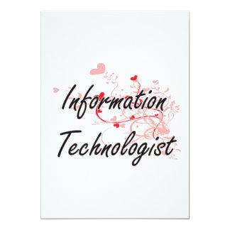 """Sistema de trabajo artístico del tecnólogo de la invitación 5"""" x 7"""""""
