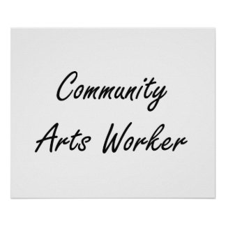 Sistema de trabajo artístico del trabajador de los póster